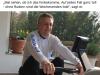 Lothar Wieler trainiert auf dem Ergometer