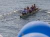 die ersten Boote gehen an den Start