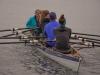 allgemeiner Ruderbetrieb zur Kieler Woche - ungewohntes Bild