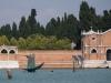 der Totenfährmann, weist den Weg zur Friedhofsinsel San Michele