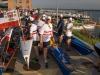 am Bootsplatz - aktives Anstehen oder auch Hauen und Stechen