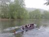 5 Männer auf der Weser