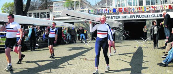 Anrudern in Kiel