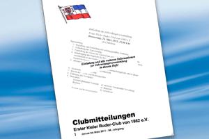 Clubmitteilungen 01/2011
