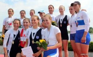 Claudia gewinnt Bronze beim Deutschen Meisterschaftsrudern