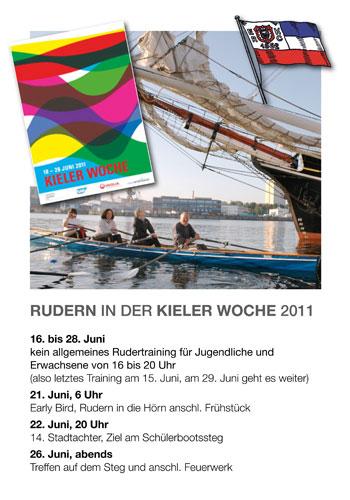 Rudern Kieler Woche 2011