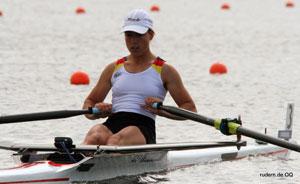 Ruderweltcup in Hamburg mit Claudia Mack