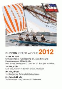 Rudern in der Kieler Woche 2012