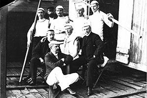 Achtermannschaft des EKRC 1885