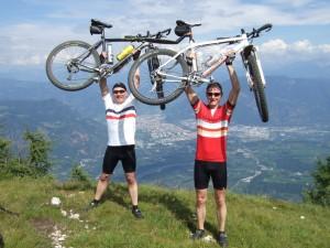 Alpencross 2012