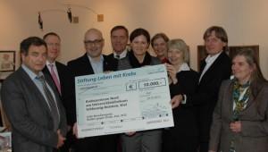 10 000 Euro für das Krebszentrum