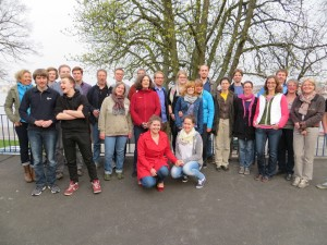 Die Teilnehmer/-innen des 15. Kieler Steuerleutelehrgang