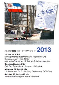 Rudern Kieler Woche 2013