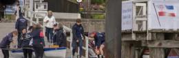 Hochbetrieb auf dem Bootsplatz