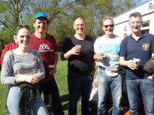 von links: Emma Gauch, Dieter Leptien, Stefan von Weydenberg, Rolf Zumegen,Sigi Schürmann