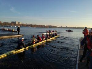 das Siegerboot